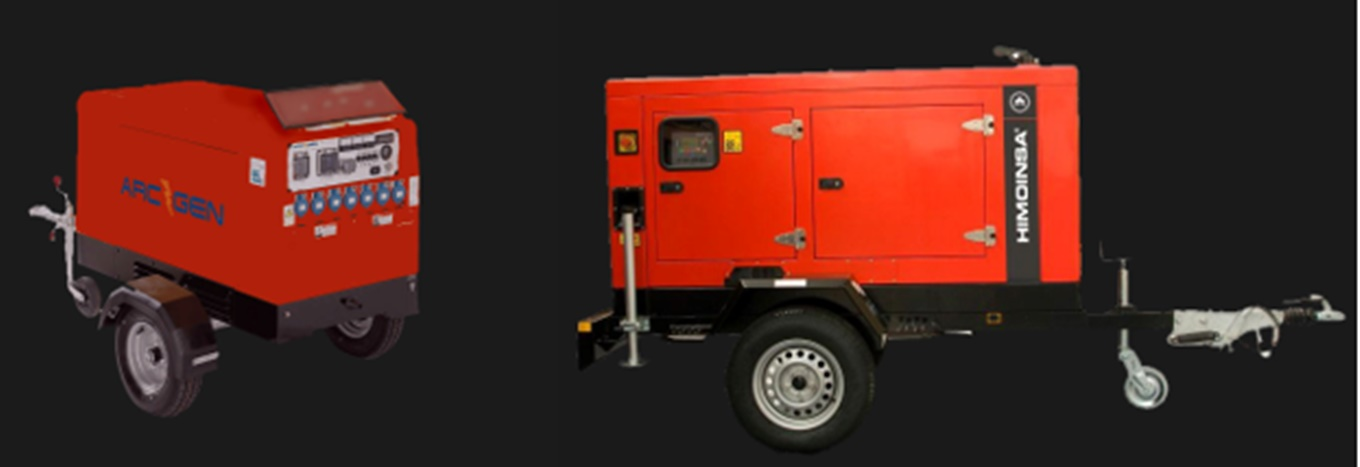 Generator Hire in Poole Bournemouth Weymouth Portsmouth