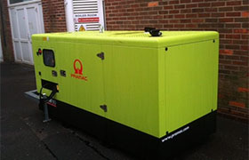 New generator at Lulworth Army Camp in Dorset