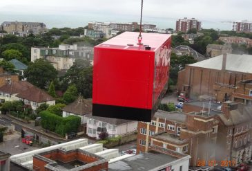 4Com New HQ Generator Installation, Bournemouth