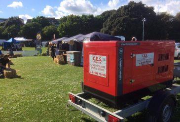Wedding Generator Hire, Southampton